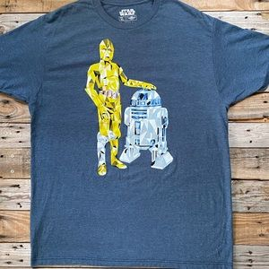 Star Wars R2D2 Short Sleeve Graphic Tee Size XL